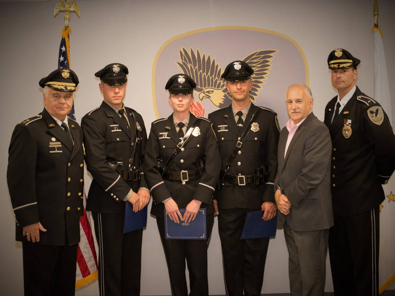 Johnston police welcome new officers johnston ri patch - Restaurants in garden city cranston ri ...