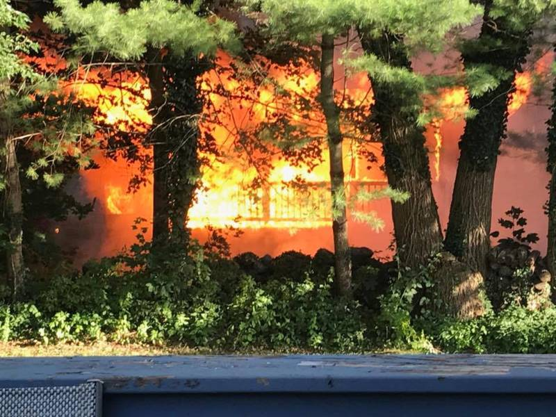 Narragansett Crews Put Out Fire On Winterberry Road