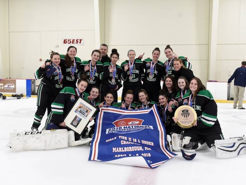 CT H.S.: Shoreline Sharks U16 Wins USA Hockey Girls National Championship | Madison, CT Patch