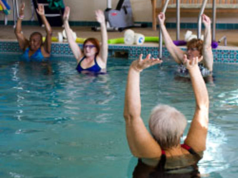 Swim classes and open swim in a warm water pool - Whitefish bay pool open swim hours ...