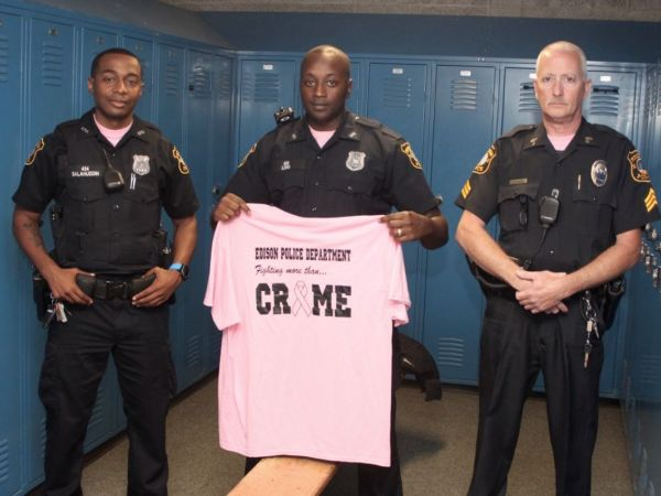 Edison Police Blue Is Going Pink For Breast Cancer
