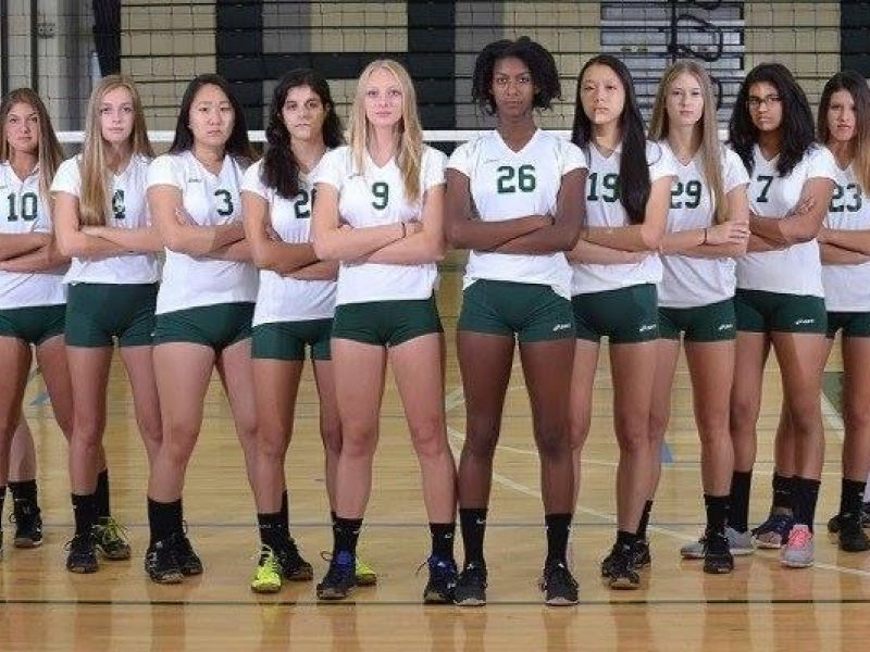 East Brunswick Girls Volleyball Named Gmc Red Division