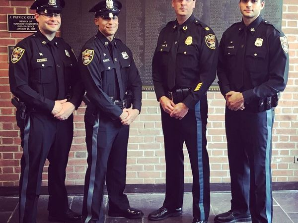 Morris Twp Welcomes 3 New Police Officers