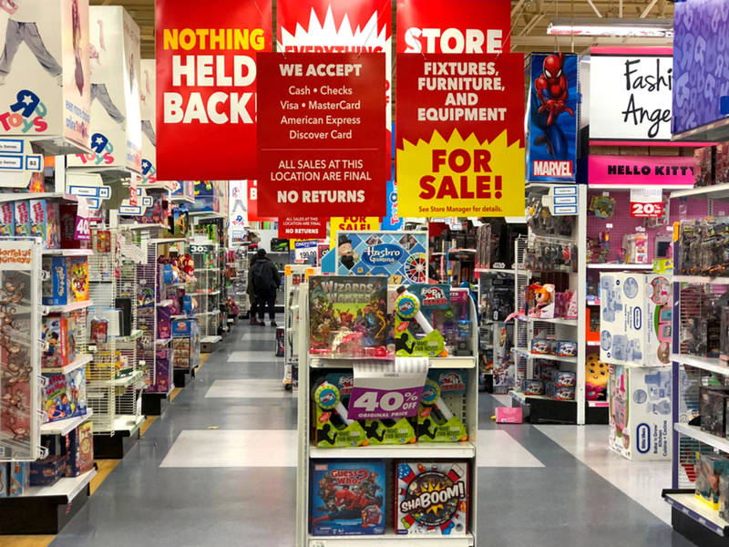 Rockaway Toys R Us Store Will Close By May No Sales Yet