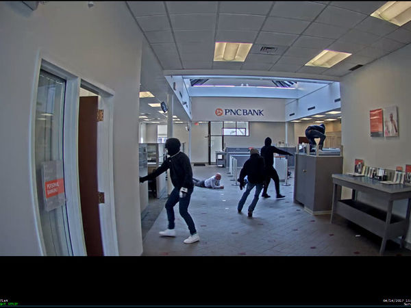 Security Guard Scares Armed Cleveland Bank Robbers