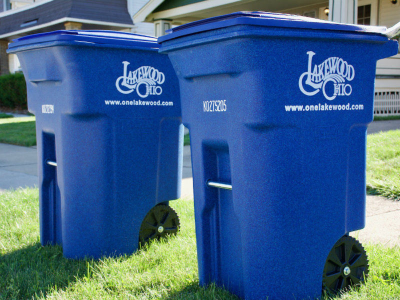 lakewood recycling down slightly citywide