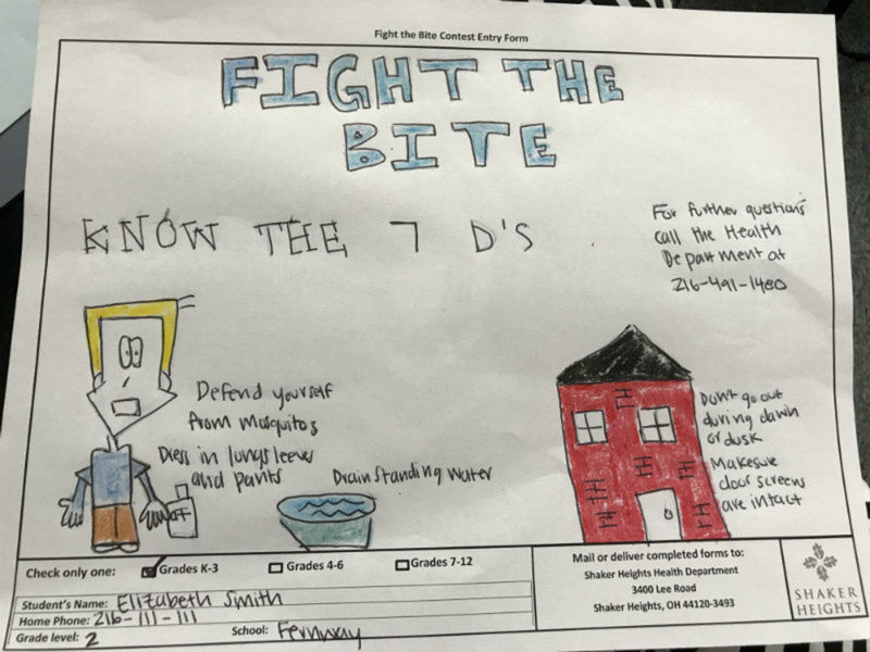 Fight The Bite Mosquito Art Contest Kicks Off In Shaker Heights
