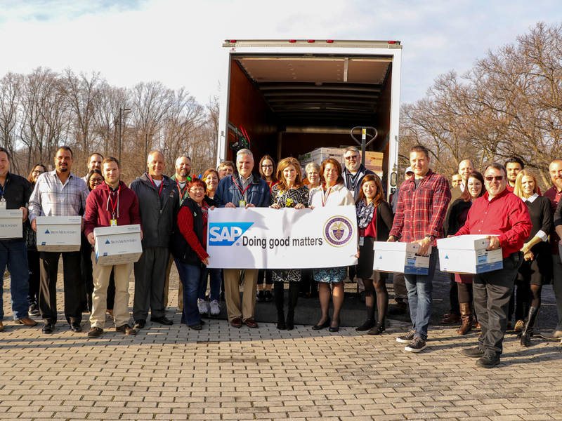 Newtown Square Company Donates 1,100 Lbs Of Food To Delco Drive | Marple Newtown, PA Patch