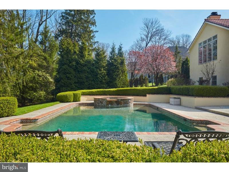 $2.3 Million Wayne Home Has Rec, Wine, Media Rooms, Spa, Pool ...