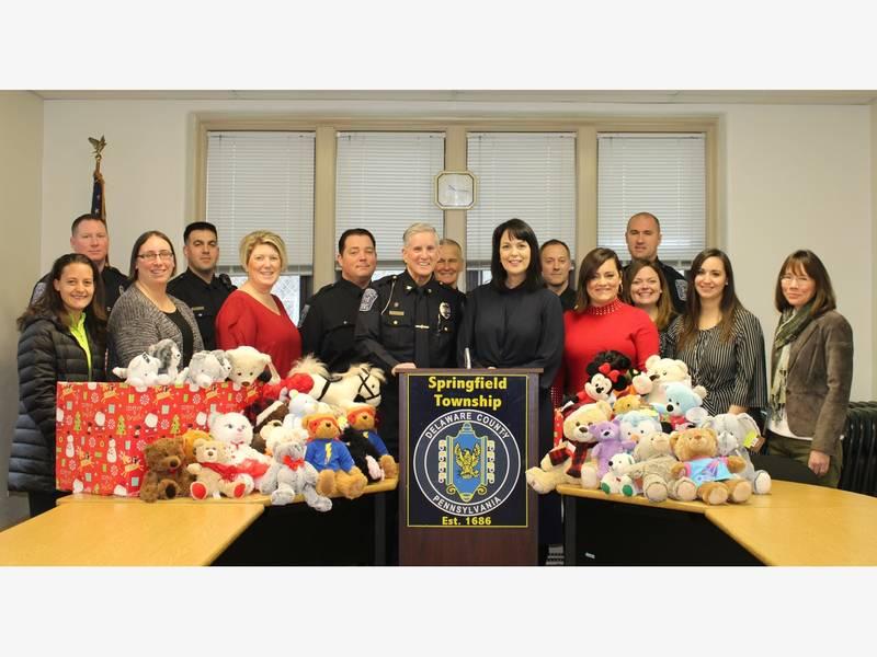 Stuffed Animals Donated To Delco Child Victims Of Crime