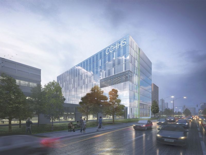 Construction Begins On New Cook County Central Campus