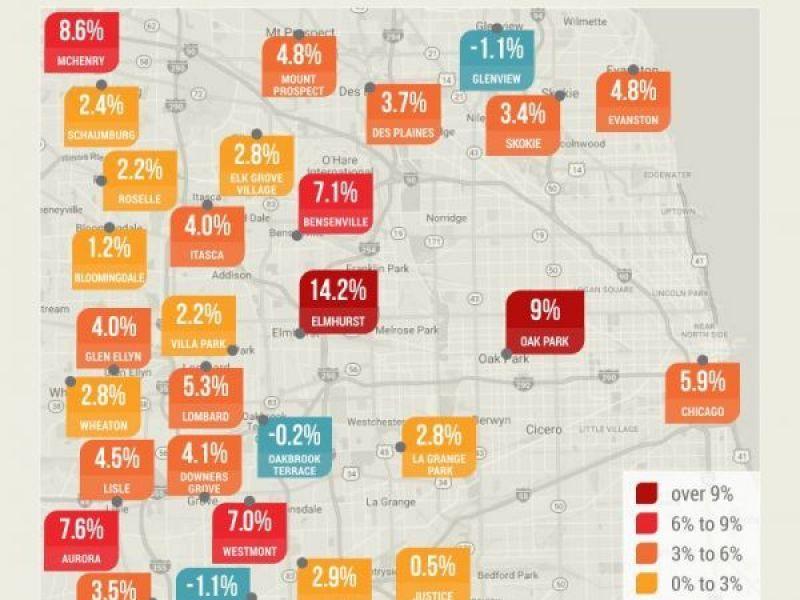Oak Park Chicago Map.Oak Park Rental Rates Have Skyrocketed In Recent Years Report Oak