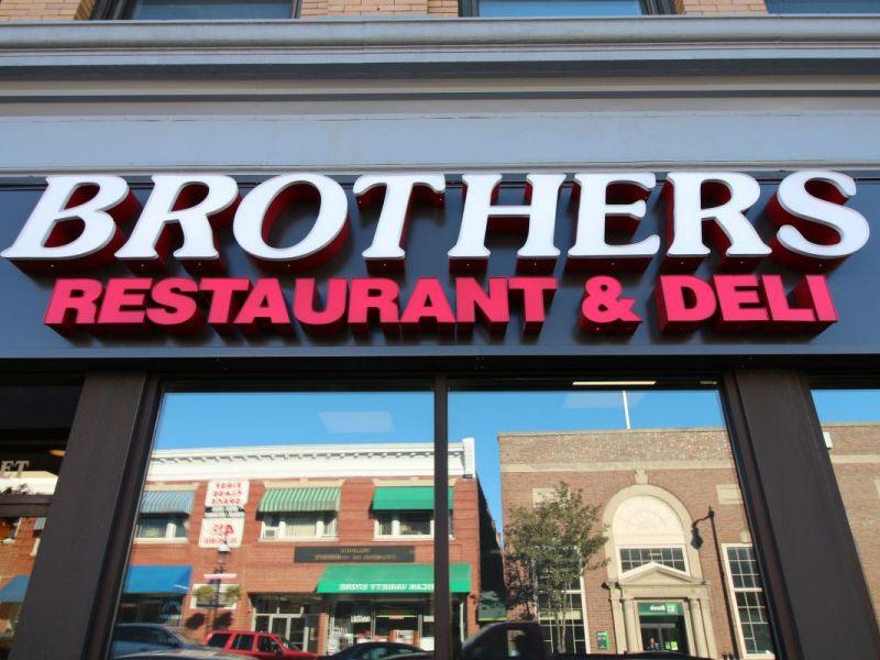 Brothers Restaurant Peabody Ma