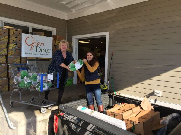 ma twenty five turkeys were donated to the open door food pantry