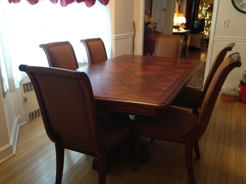 like new ethan allen dining room set cheshire ct patch