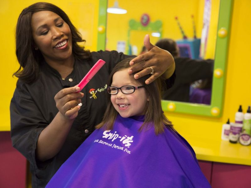 Snip its kids hair salon spa grand opening special for A little off the top salon