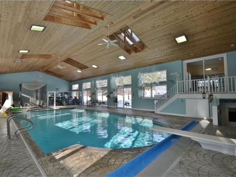 wow house get out your flippers wayne county estate features indoor pool plymouth mi patch