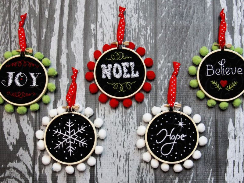 80+ Personalized Christmas Ornaments Anyone Can Craft   Across ...
