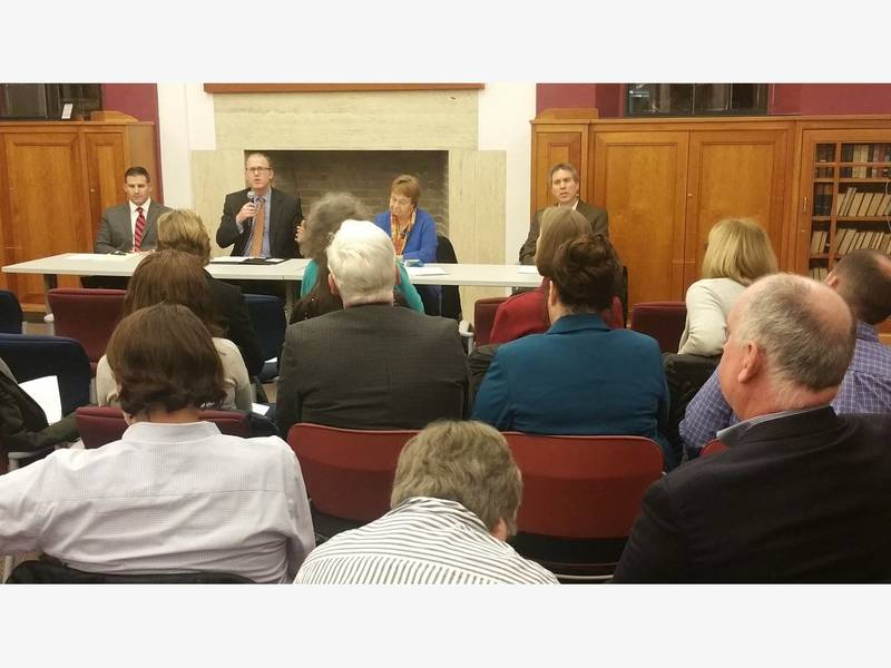 Lewis Holds Forum On Mental Health And Wellness Winchester Ma Patch