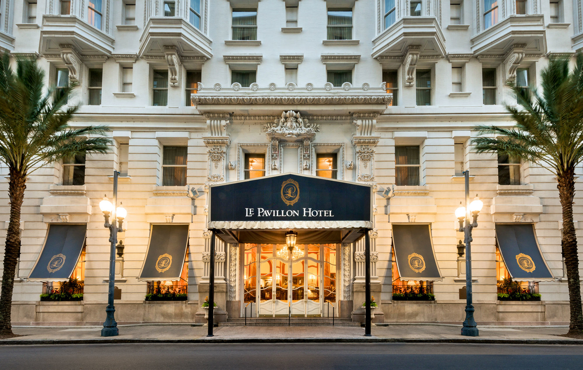 Le Pavillon Hotel In New Orleans Louisiana