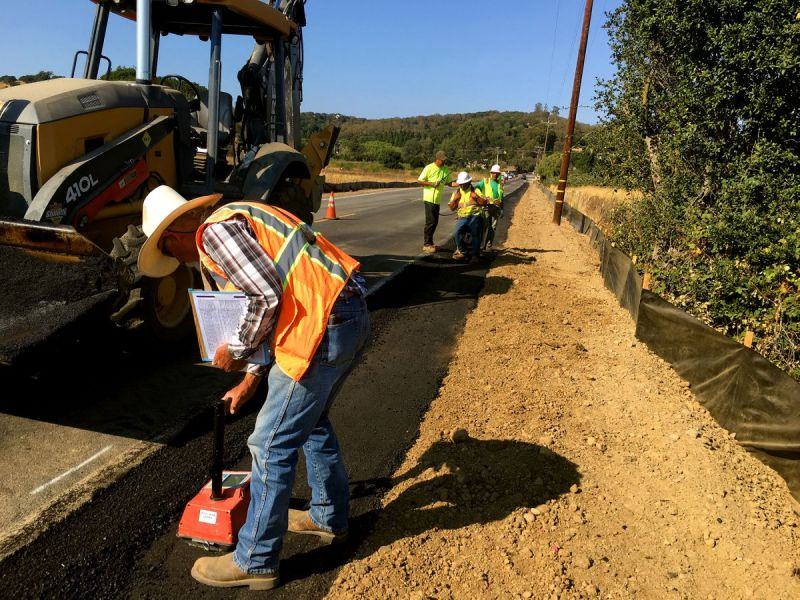 Olive Avenue In Novato Receives Substantial Upgrades Novato Ca Patch