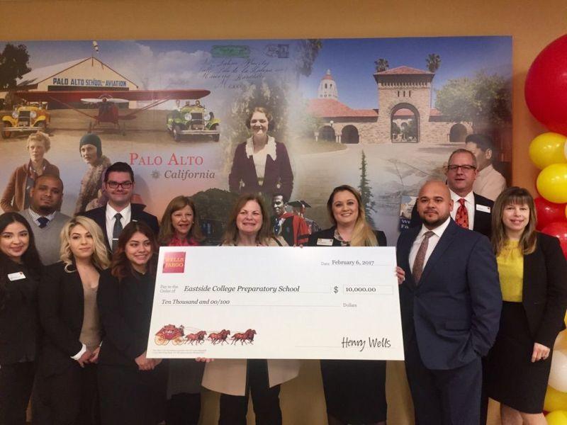 New Wells Fargo Branch Opens With Diversity Mural School Donation