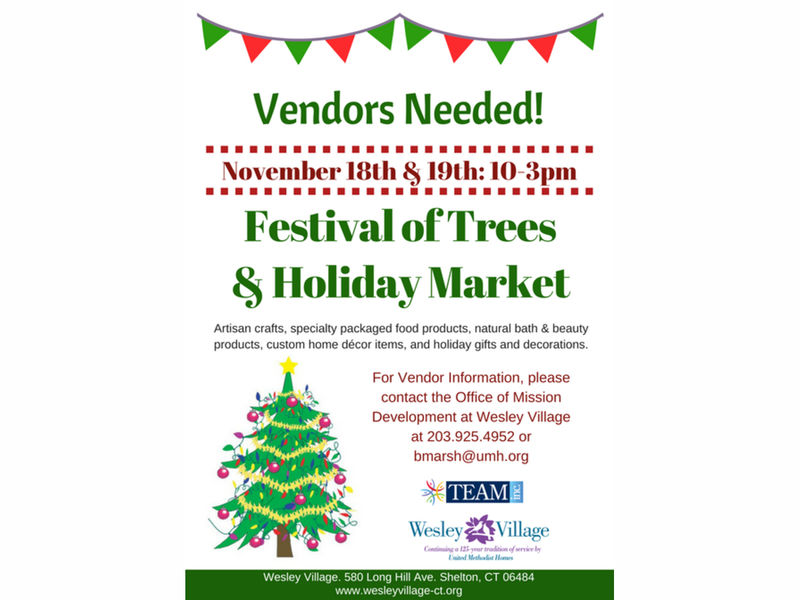 Vendors wanted for 2017 team festival of trees and holiday for Vendors wanted for craft shows 2017