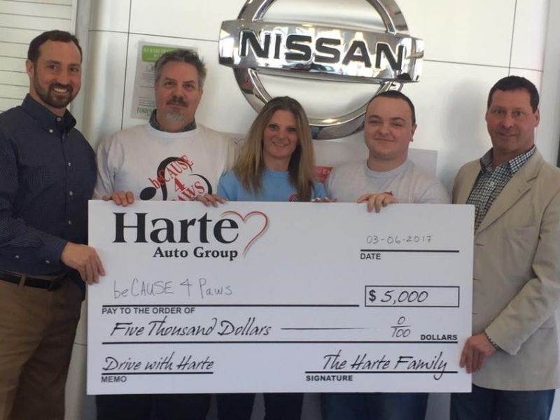 Because 4 Paws Wins 5 000 From The Harte Auto Group
