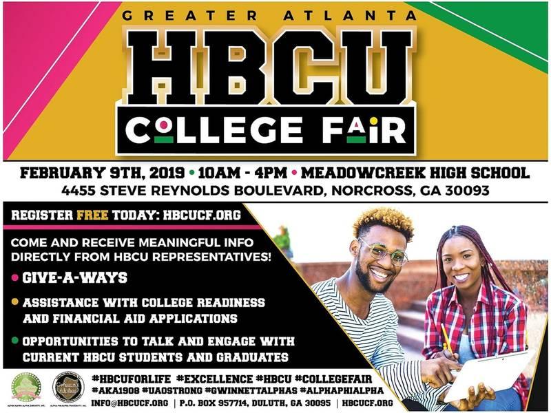 Greater Atlanta Hbcu College Fair Lawrenceville Ga Patch