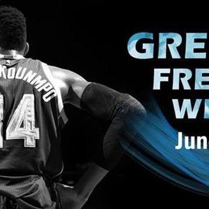 Honoring His Greek Heritage, NBA All-Star Giannis Antetokounmpo to Host Basketball Clinic at Adelphi University on June 4