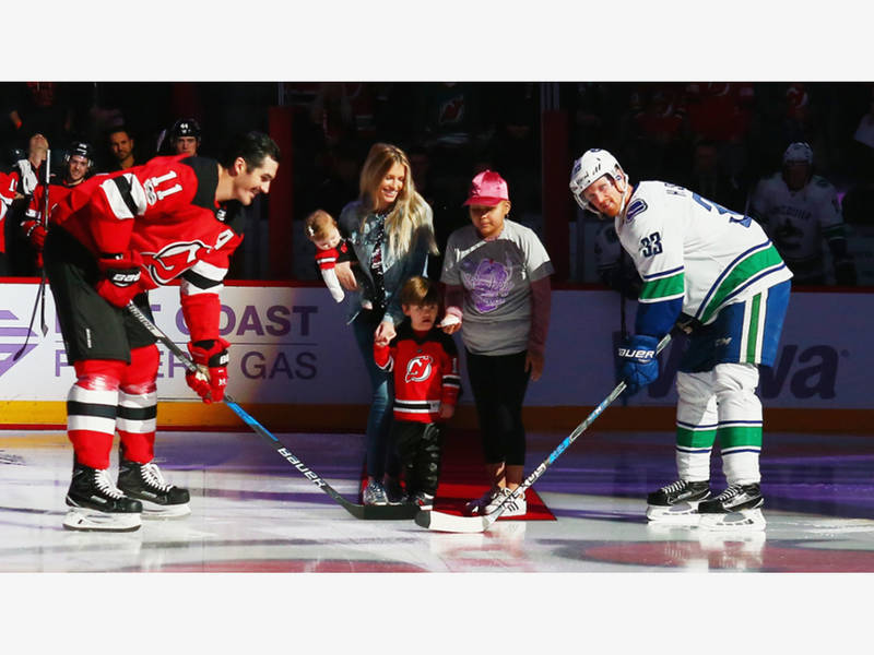 Brian Boyle Nets Goal in Devils Win on Hockey Fights Cancer Night ... fc4e7d260