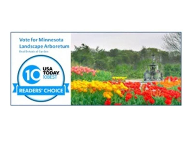 Minnesota Landscape Arboretum Nominated as a Best Botanic Garden in ...