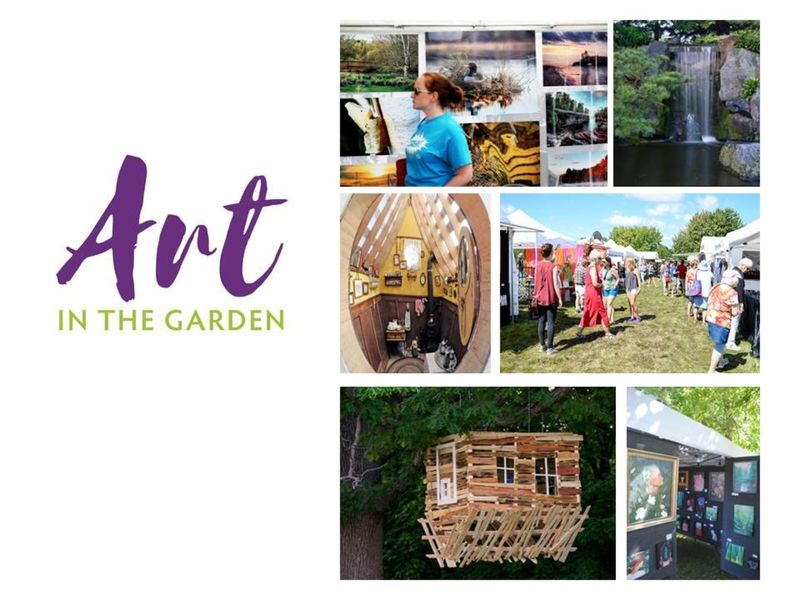 Art In The Garden This Weekend! And More... At The Arboretum,