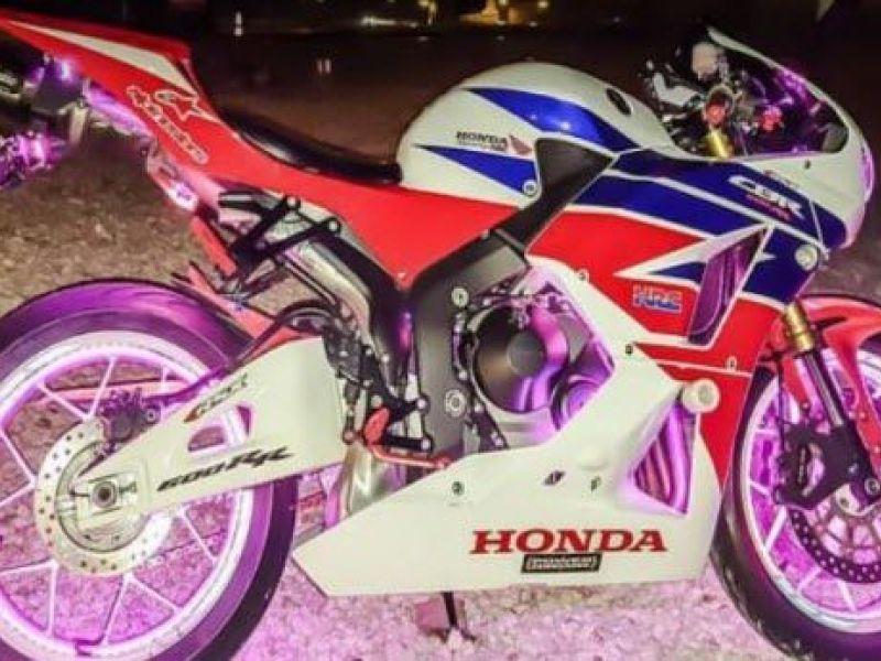 Brazen motorcycle thieves walked right into condo garage for Honda florida ave