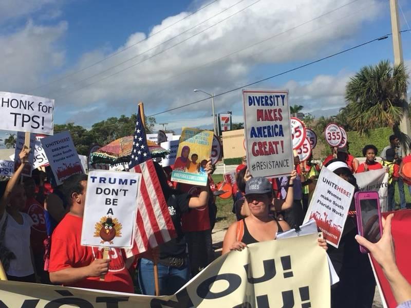 Road Closures West Palm Beach Trump