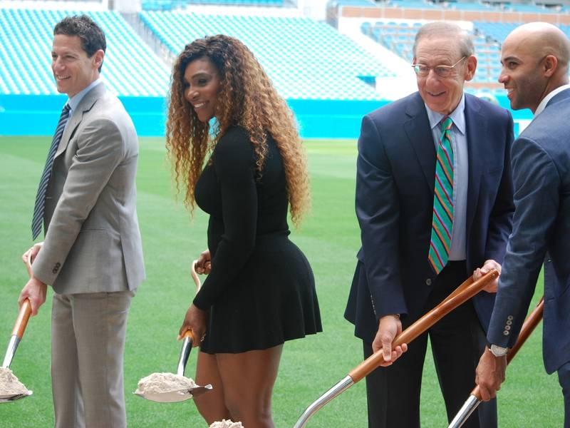 Serena Williams \'Digs\' Future Miami Tennis Stadium | Aventura, FL Patch