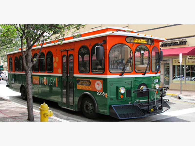 miami expands free trolley along brickell, flagami   miami
