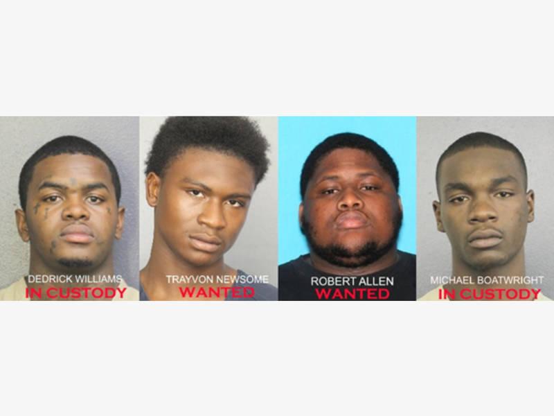 Ventura Fire News >> XXXTentacion Murder: 2 Suspects Sought; 2 In Custody   Aventura, FL Patch