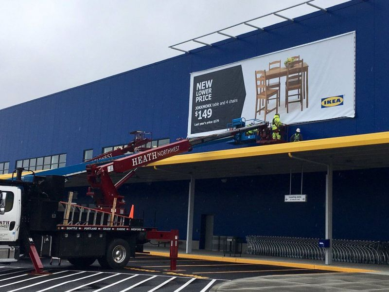 Washington 39 s new ikea store opening wednesday in renton for Ikea seattle ameublement renton wa