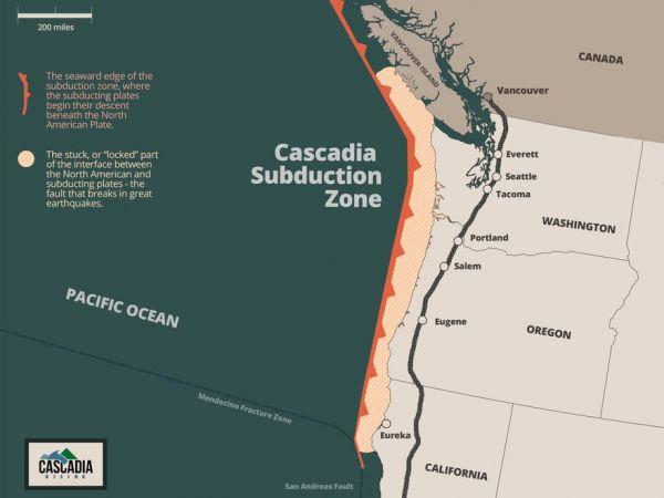 Risk Of Cascadia Quake Elevated As Puget Sound 'Slow Slip' Event Begins