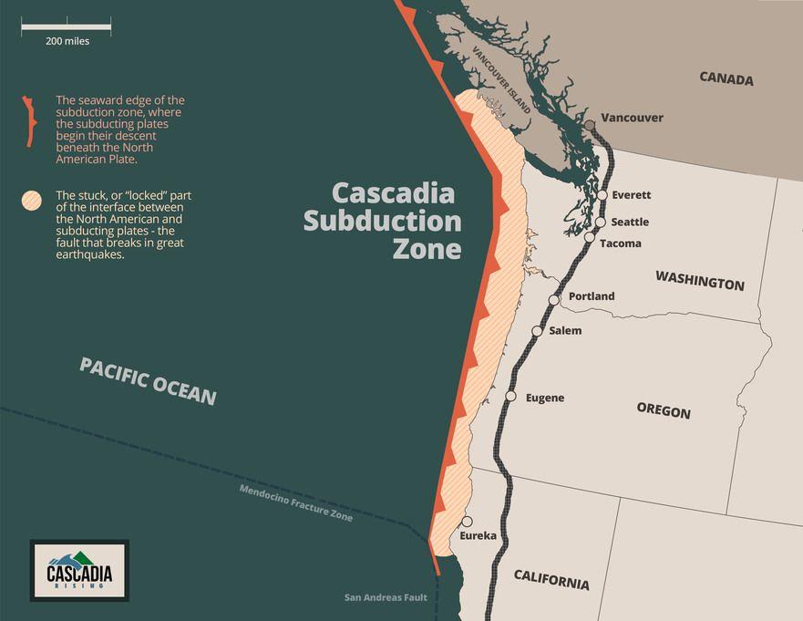 Risk Of Cascadia Quake Elevated As Puget Sound 'Slow Slip