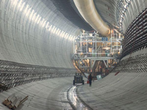 big bertha tunnel boring machine
