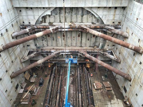 Highway 99 tunneling machine digging its final feet Tuesday — BERTHA BREAKTHROUGH