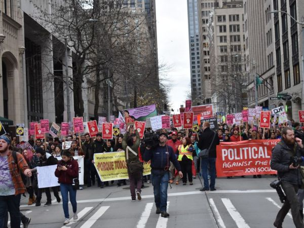 Image result for Images of Tax Day protests