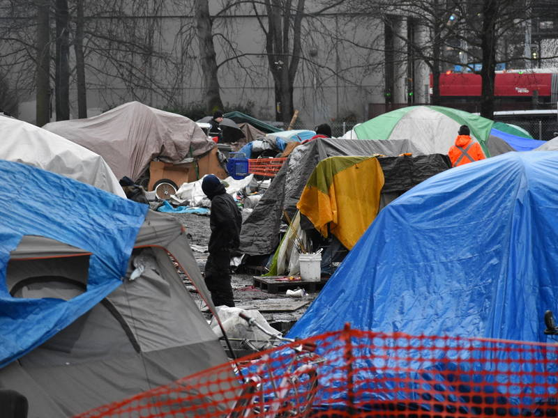 88 Homeless People Died In King County