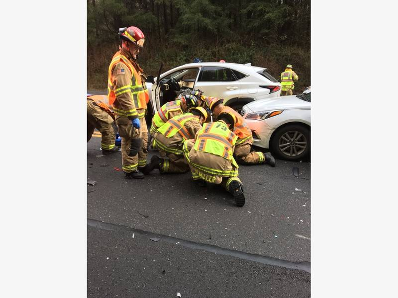 4 Vehicle Crash Closes SR 18 Thursday Morning | Sammamish