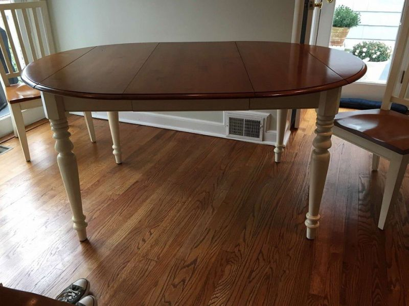 Ethan allen kitchen table and chairs for sale chatham nj patch 1 ethan allen kitchen table and chairs for sale workwithnaturefo