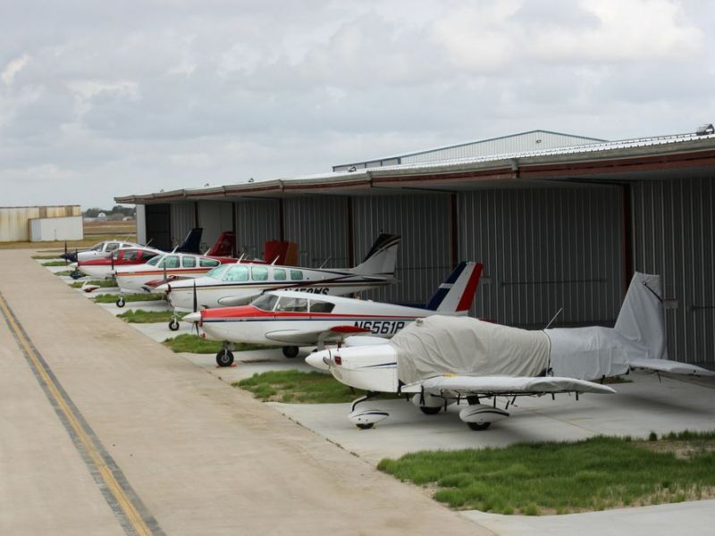 Pearland Regional Airport Releases Units Of Pre Leased T