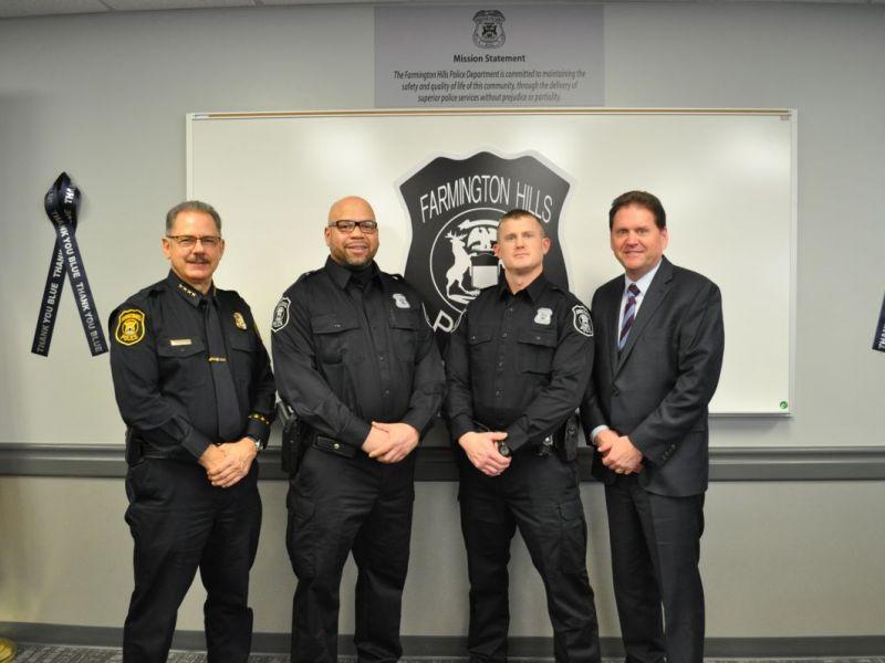 Farmington hills pd hires two new officers farmington - Garden city michigan police department ...