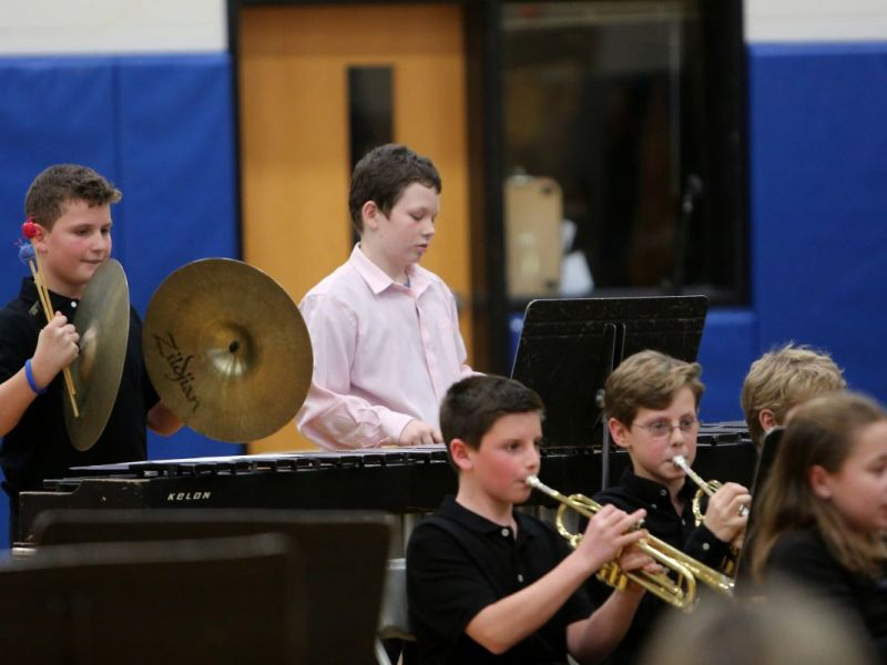 Pelham Middle School Jazz Band Performs Winter Concert Pelham Ny Patch